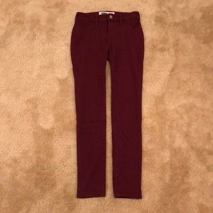 Dark Red Jegging